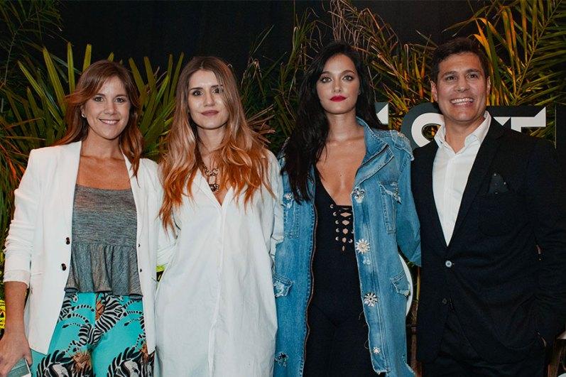 Guillermina Gasparini, Mica Tinelli, Oriana Sabatini, Facundo Mendiaz
