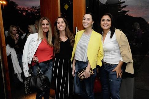 Gisel Buchilot, Cira Maiorano, Celina Del Grego y Karina Villegas
