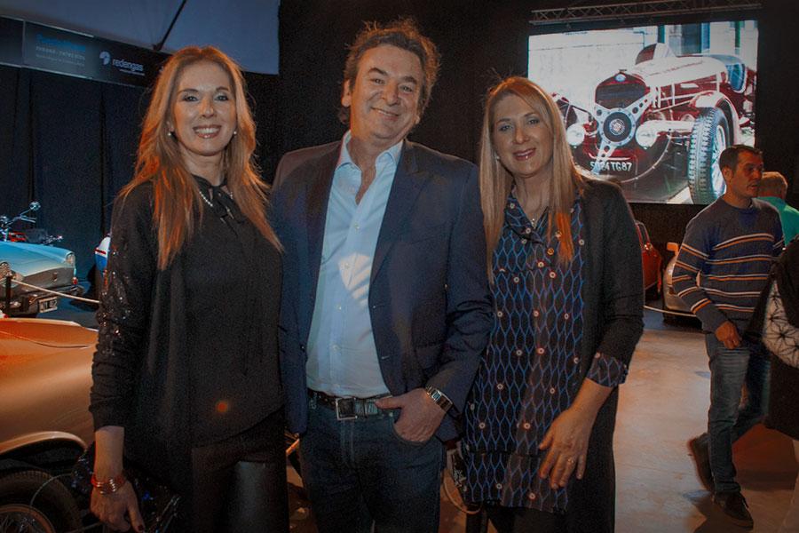 Susana Sciacia, Roberto Senger y Araceli Sciacia