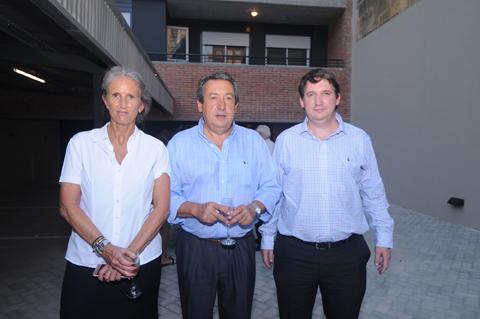 Virginia Terán, Gonzalo Crespi, y Juan Ignacio Trento.