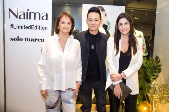 Marta Costa, Julio Kim y Vicky Becci