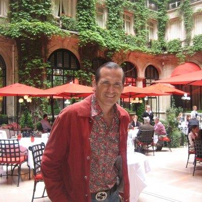 Javier Iturrioz en uno de sus viajes
