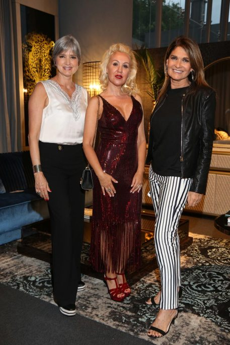 Laura de Lillo, Teresa Calandra y Teresa Garbesi