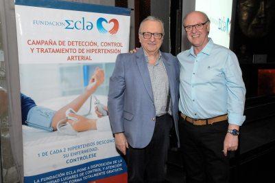 Ernesto Rathge y Sergio Gorodischer