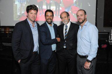 Juan Ignacio Castro, Diego Feser, Hernán Rasciatti y Alexis Weitemeier