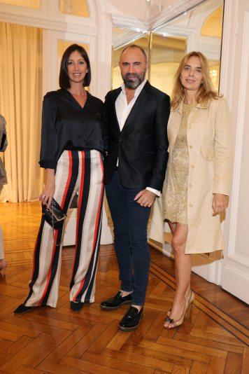 Paola Brussa, Gabriel Lage y Eugenia Montilla