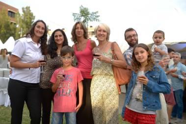 Debora Crer, Romina Crer, Mariana Crer, Carmen Del Frate, Federico Nachman, Benjamín García, Agostina Nachman y Lucas Nachman