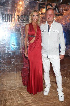 Gabriela Castellani y Cristiano Rattazzi