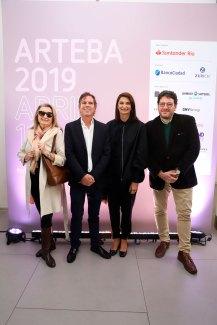 Alicia de Arteaga, Alec Oxenford, Mariana Arias y Pablo Avelluto