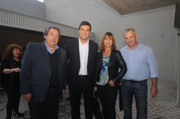 Gonzalo Crespi-Director Pilay S.A.- Luciano Morad-CEO Pilay S.A- Analia Imbrogno y Andres Hernandez -Bauen Arquitectura S.R.L.
