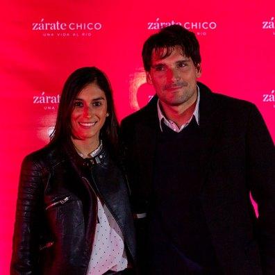 Florencia Sotto y Leandro Campanini