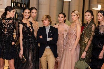 Noe Bernacelli y sus modelos