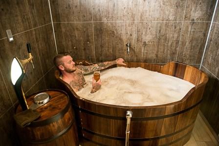 spa de cerveza