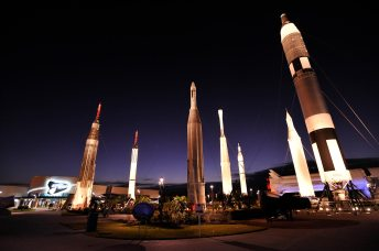 Rocket-Garden-at-night