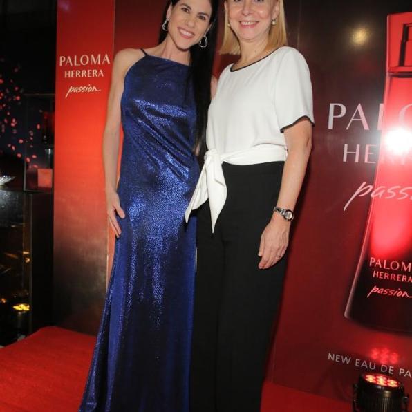 Paloma Herrera con María Victoria Alcaraz Dra. Teatro Colon