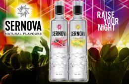 Natural Flavours, la nueva línea de Sernova otra forma de beber vodka