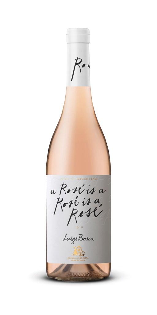 Luigi Bosca Rosé is a Rosé, el vino y la estación