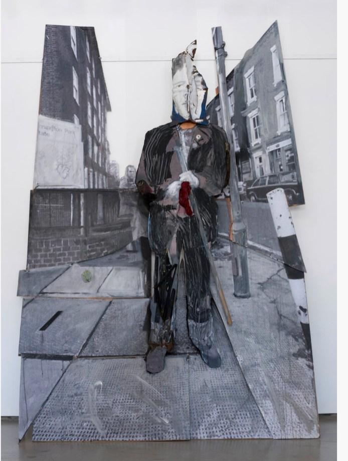 Javier Abdala, una obra de impacto y fuerte
