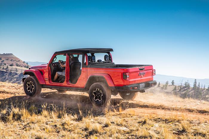 Jeep Gladiator, que une diseño, tecnología, desempeño y sofisticación.