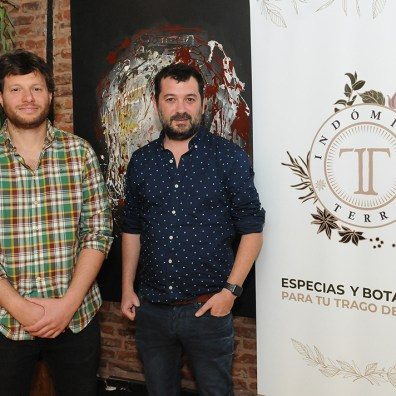 Juan Pablo Rey y Juan Martin Weiss