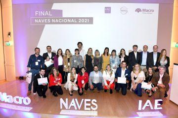 NAVES Federal 2021: Banco Macro y el Centro de Entrepreneurship del IAE premiaron a los ganadores