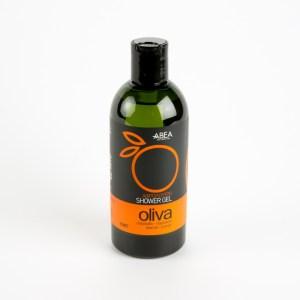 natuurlijke douchegel op basis van olijfolie en sinaasappel