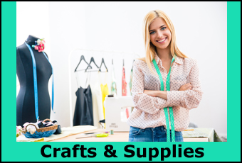 Craft items, supplies and instruction.