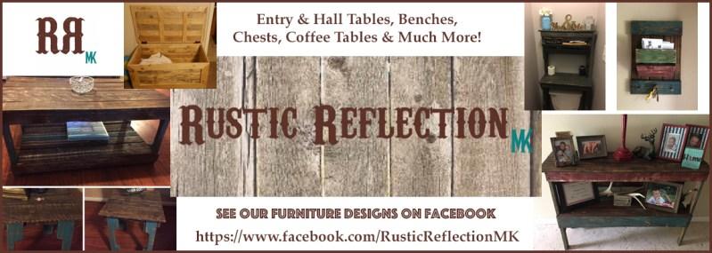 Rustic Reflection - Custom Wood Furniture