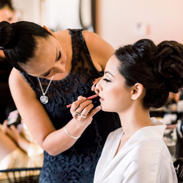 trusted wedding hairstylist and makeup service reviews for