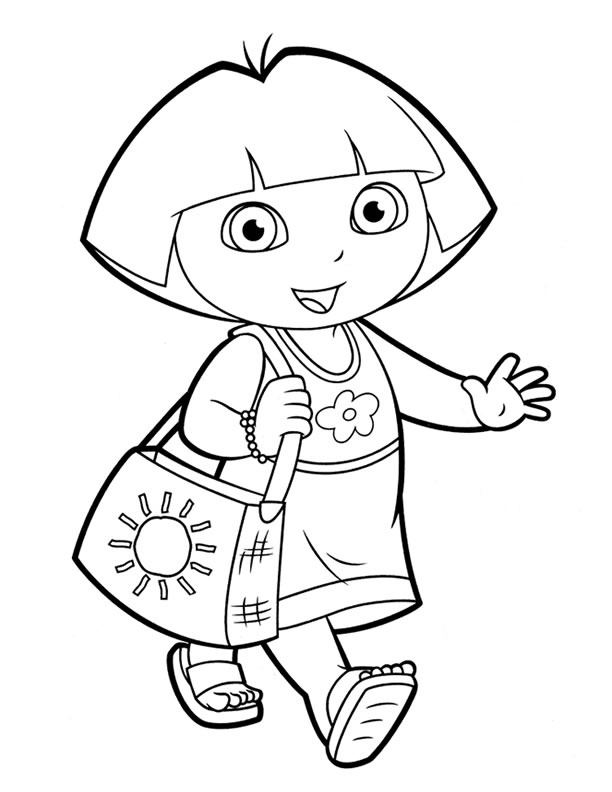 Dora Pictures To Draw