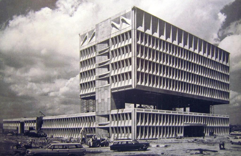 Marcel Breuer Pirelli Tire Building