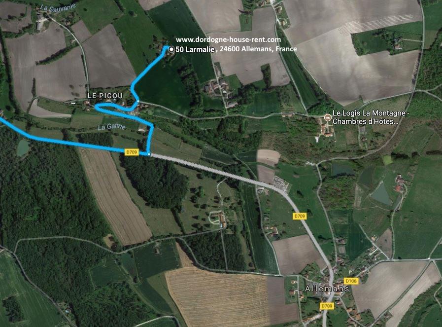 50 Larmalie, 24600 Allemans, France