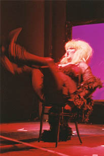 Jayne County beim Ramones Musical, Photo: Shuntrock © Dorfdisco 2005