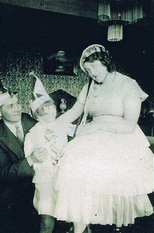 Karneval 1934 (Foto von Anni Hinz)
