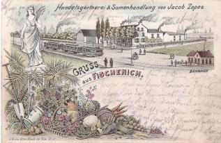 Samenhandlung Zopes - Aufnahme wurde von Dr. h.c. Hans J. Rothkamp zur Verfügung gestellt