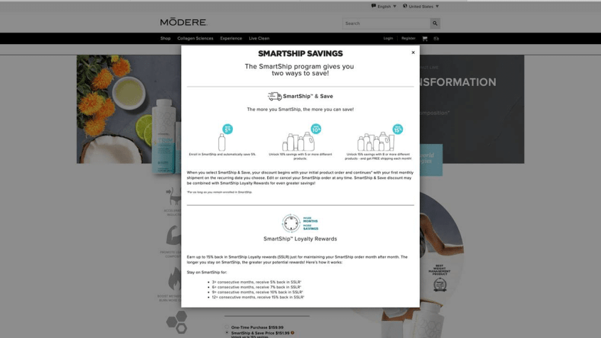 How to work with modere