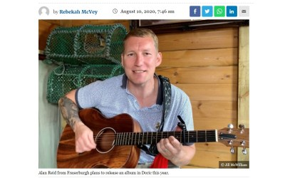 Viral success of Doric music video inspires new album for north-east musician