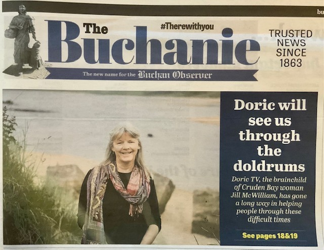 Press Release – Buchan Observer 7th Nov 2020