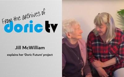 Doric TV – Jill explains her 'Doric Future' project.