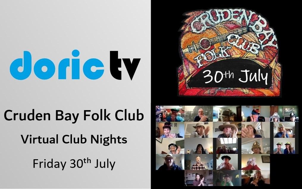 Cruden Bay Folk Club – Virtual Session 30th July 2021