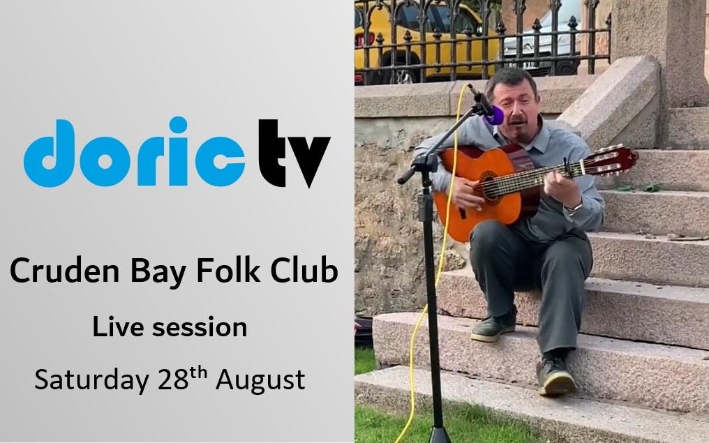 Cruden Bay Folk Club – Live Session