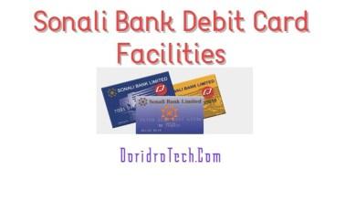 Photo of Sonali Bank Debit Card Facilities