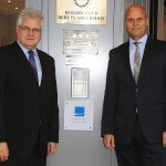 BDVT Vizepräsident Peter Krötenheerdt (links) und Hoteldirektor Grischa Puls