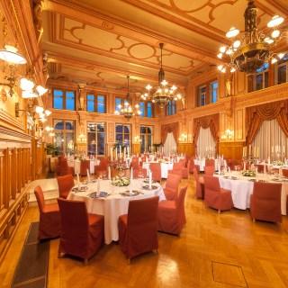 Dorint Maison Messmer Baden-Baden; Malersaal bei einer Veranstaltung.