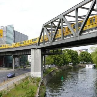 Berlin Fluss Kreuzberg