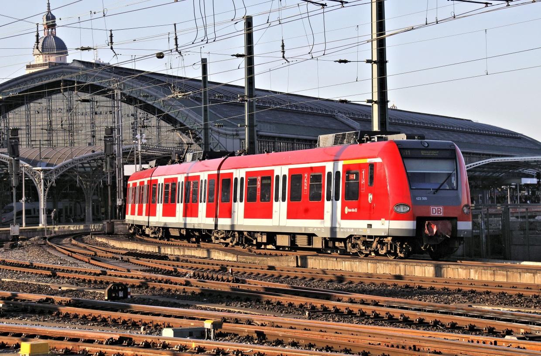 Köln Hbf mit S-Bahn