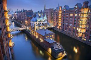 Hamburg Speicherstadt ©iStock
