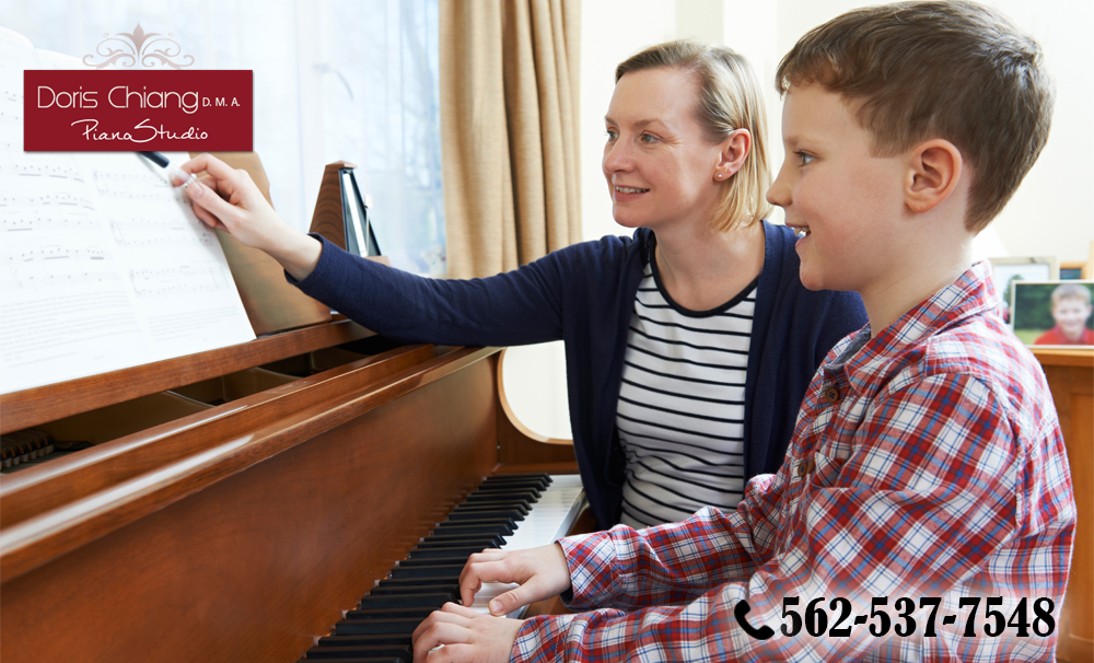 the piano lessons in Fullerton