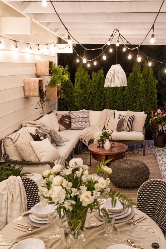 Top 5 Ideas for the Perfect Summer Outdoor Living Room on Backyard Patio Decorating Ideas id=56352