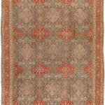 Antique Cotton Indian Agra Rug